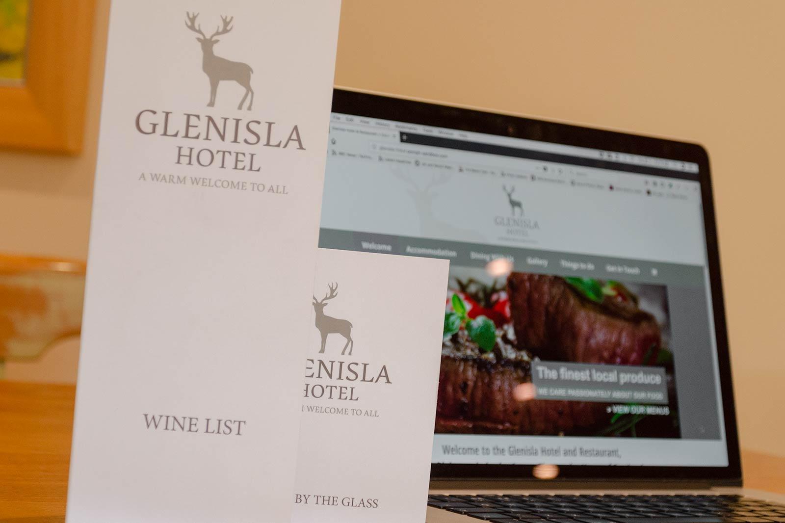 Glenisla Hotel Website