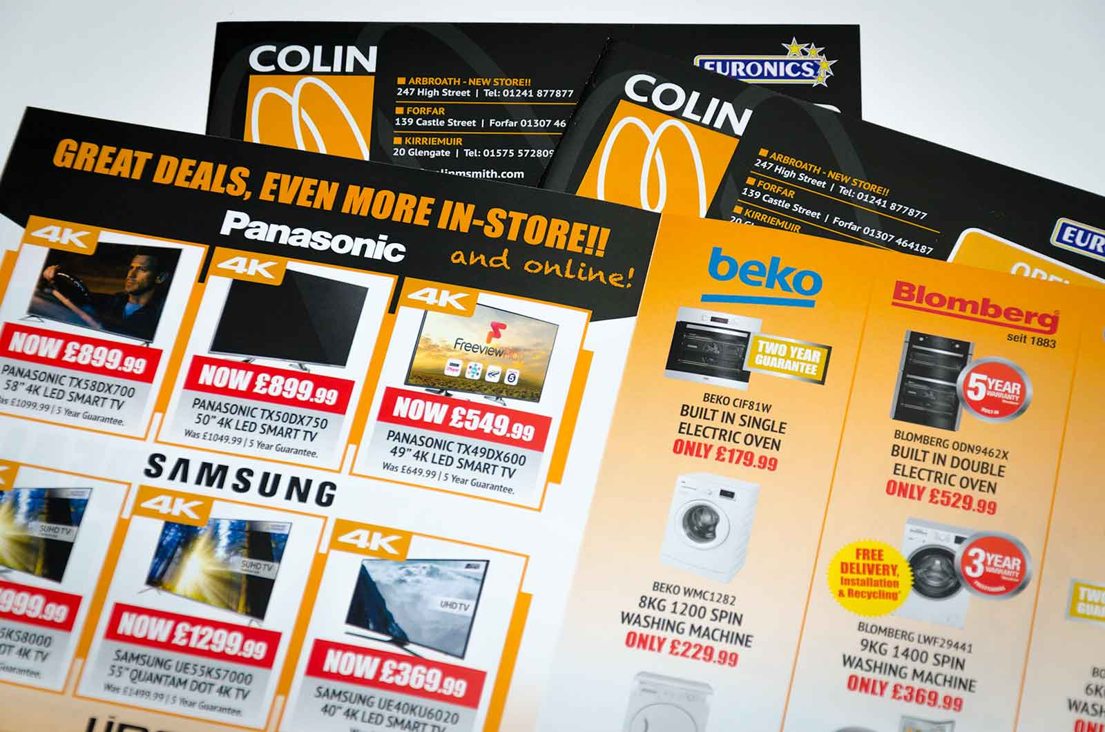Colin Smith Leaflet