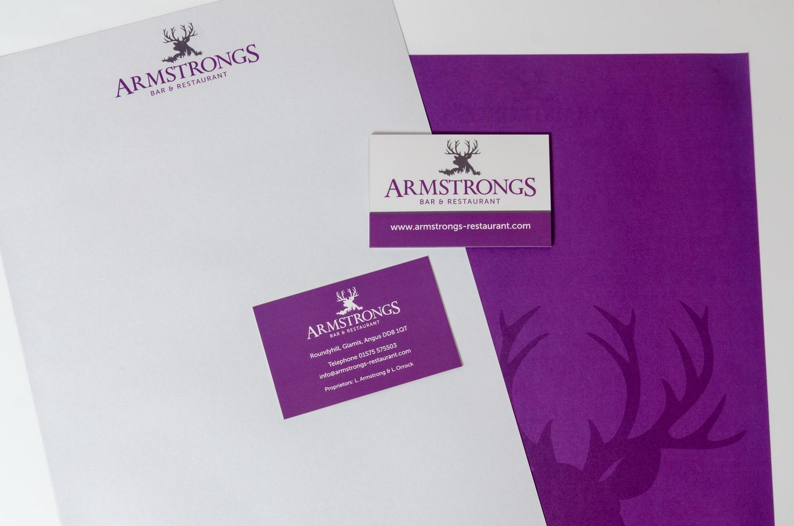 Armstrongs Branding