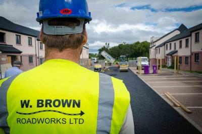 W Brown Roadworks Photography