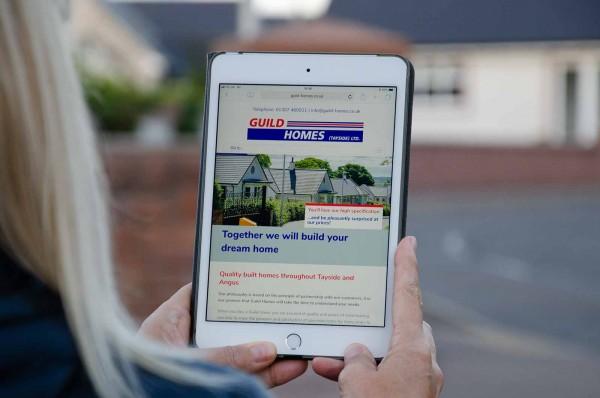 Guild Homes Website