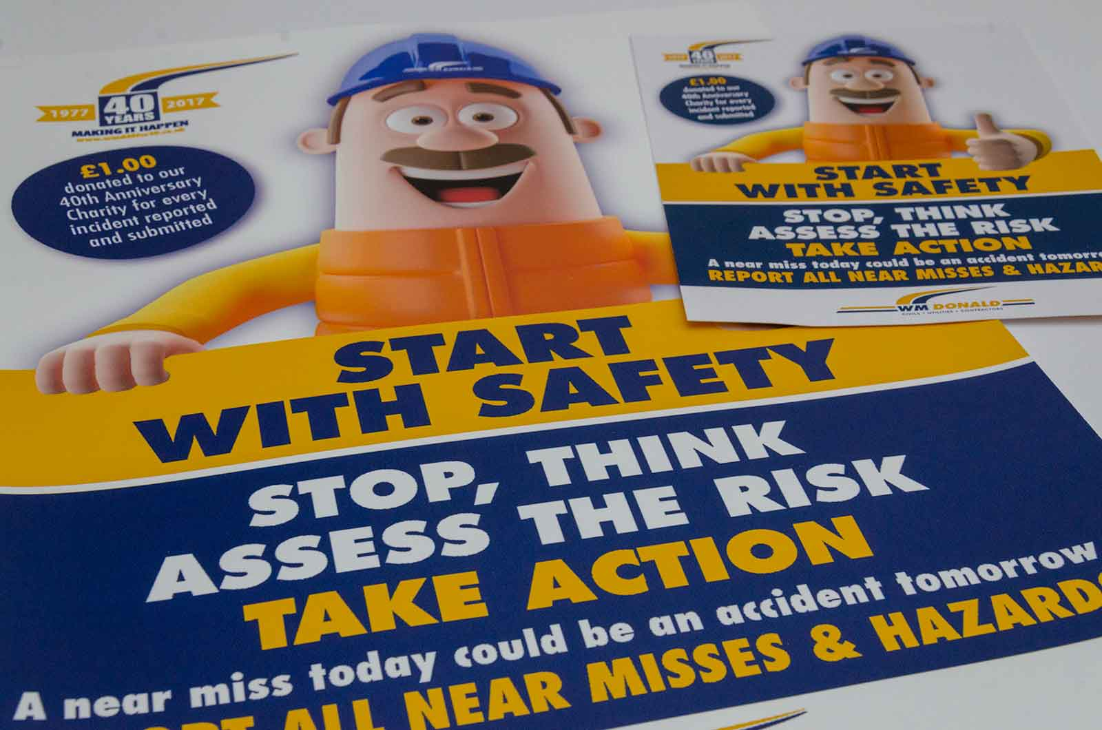 W M Donald Safety Campaign
